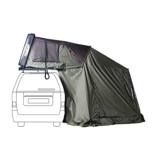 HAN'S HARD TOP TENT